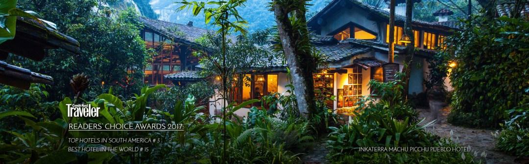 Best Luxury Hotels by Machu Picchu, Inkaterra Machu Picchu Pueblo