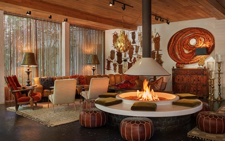 Best Retro Chic Hotels in Palm Springs, Girl Who Travels the World, Parker Palm Springs