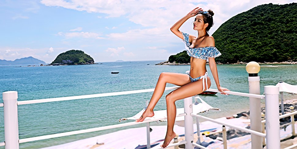 Best Off-Shoulder Bikinis for Summer 2018, Girl Who Travels the World, Tempt Me Bikini