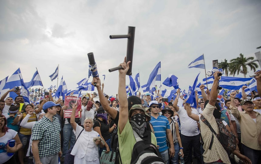 What's Happening in Nicaragua Right Now? Girl Who Travels the World, Credit Jorge Torres