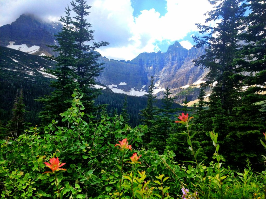Iceberg Lake Trail in Glacier National Park, Girl Who Travels the World