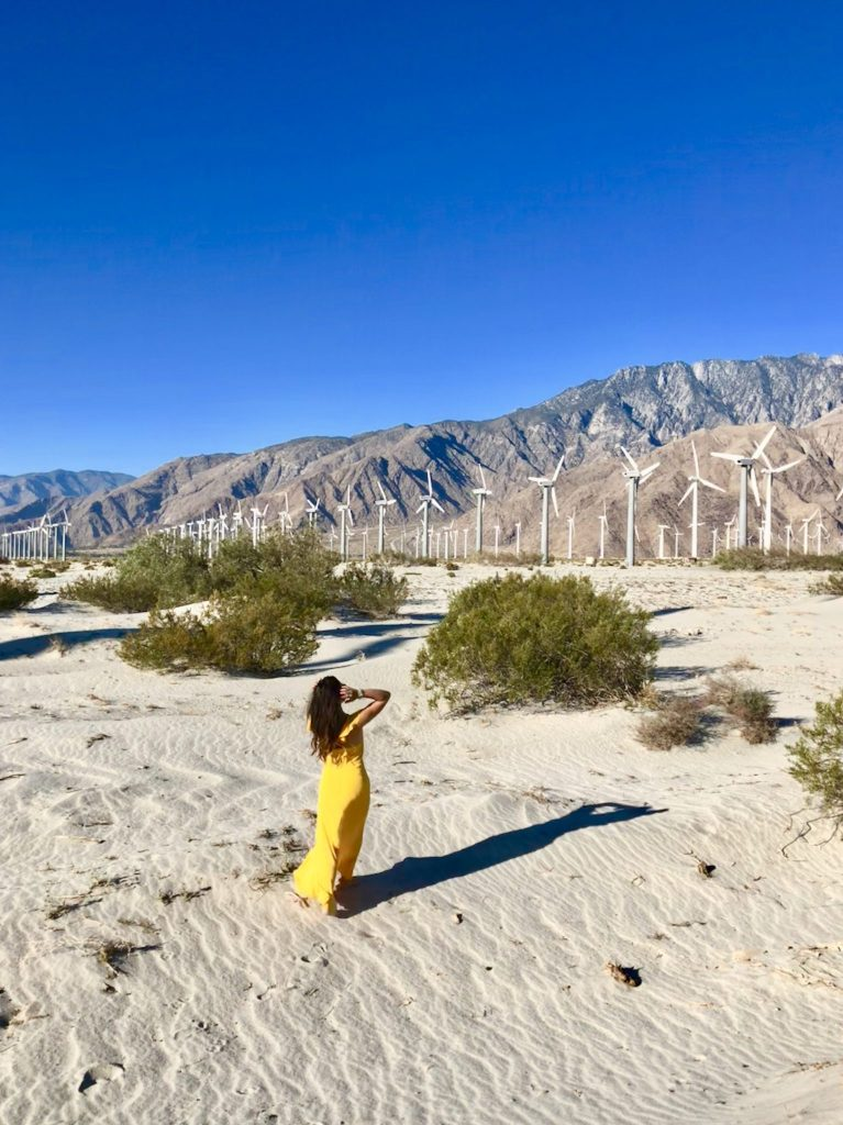 Ultimate Palm Springs Travel Guide, Tips for Photo Shoots at Palm Springs Windmills, Girl Who Travels the World