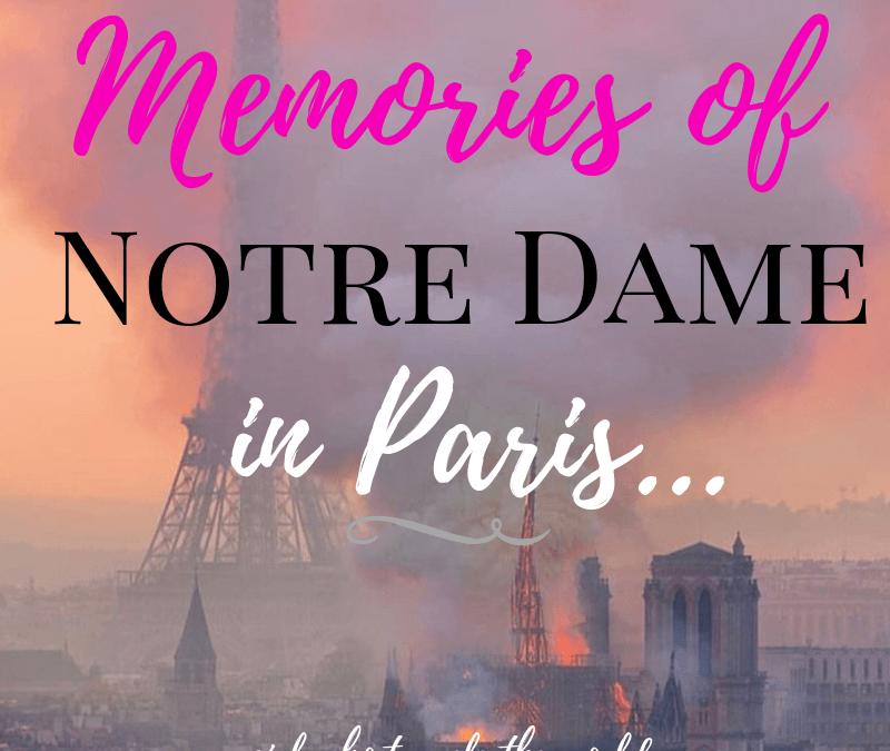 Memories of Notre Dame in Paris., Girl Who Travels the World