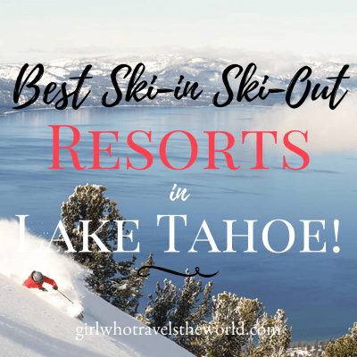 Best Ski-in Ski-Out Resorts in Lake Tahoe