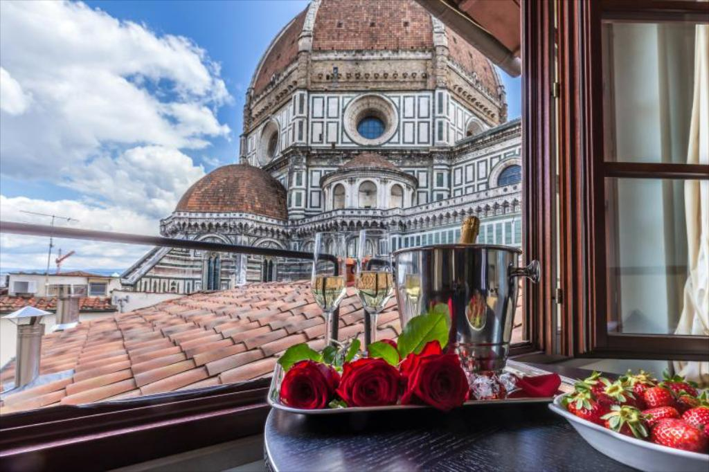 Best Hotels in Florence with Duomo Views, Girl Who Travels the World, Hotel Duomo Firenze