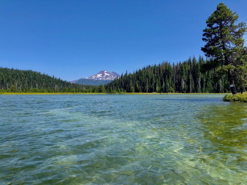 Prettiest Lakes by Bend, Oregon, Hosmer Lake