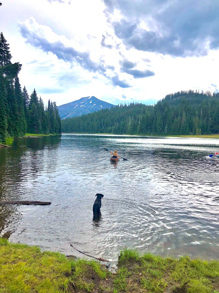 Top Five Lakes by Bend, Oregon, Girl Who Travels the World, Todd Lake
