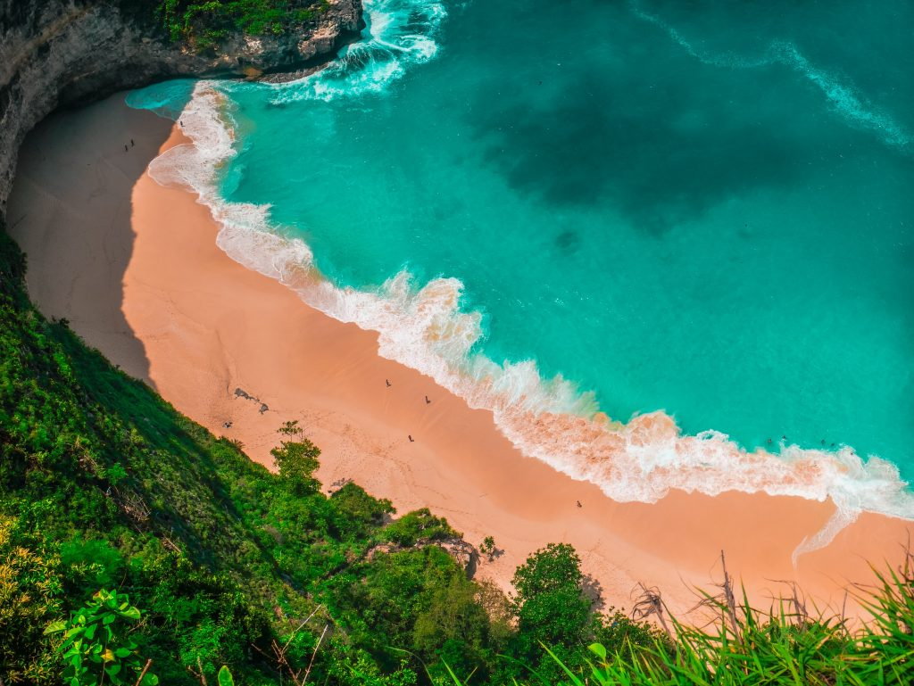 Best Warm Weather Beach Vacations for January & February, Girl Who Travels the World, Klingking Beach, Bali