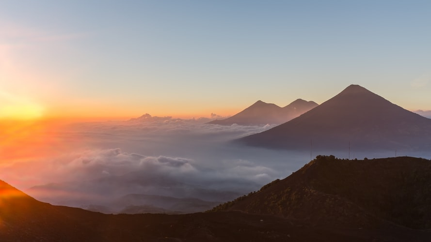Solo Female Travel in Antigua, Guatemala, Girl Who Travels the World, Pacaya Volcano
