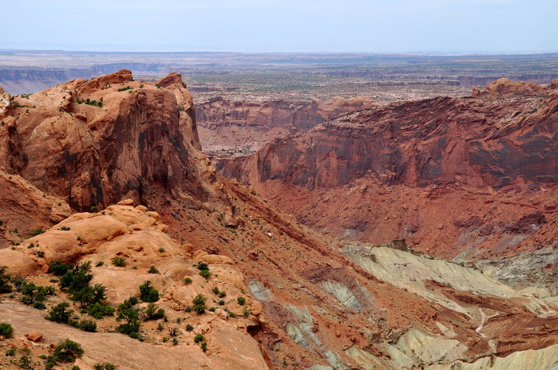 Best Easy Hikes at Canyonlands National Park, Girl Who Travels the World, Upheaval Dome Hike