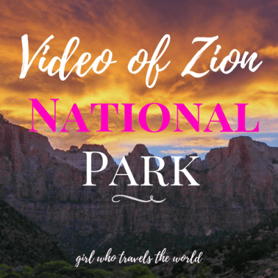 Video of Zion National Park & Kolob Canyon