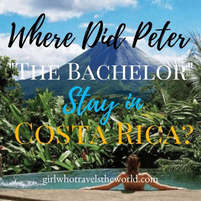 Where Did Peter The Bachelor Stay in Costa Rica?