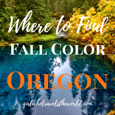 Where to Find Fall Color in Oregon