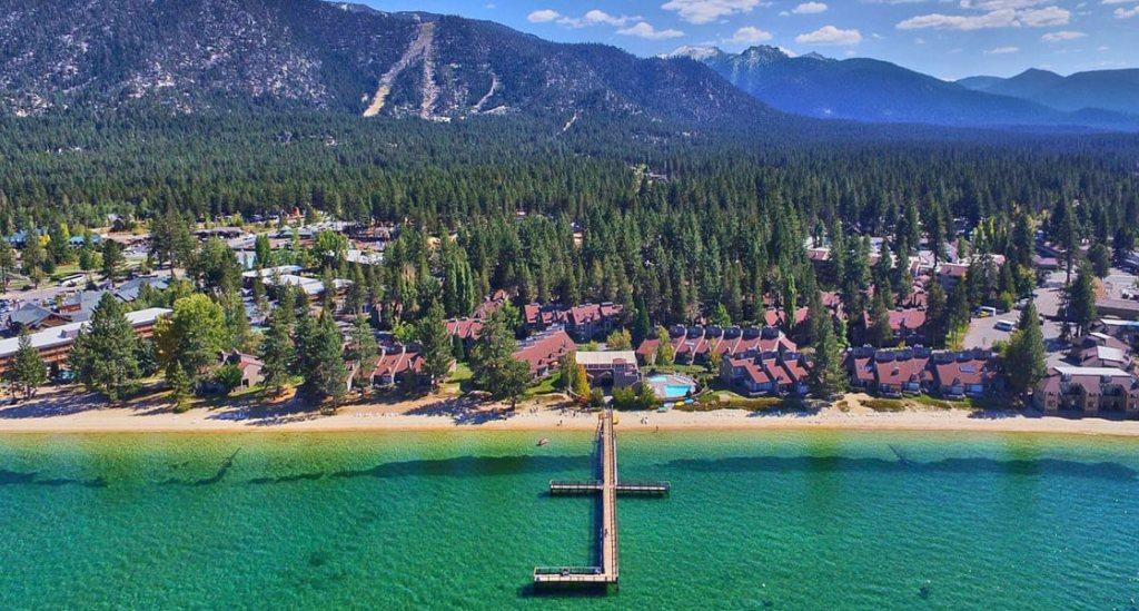 Best Budget Lakefront Resorts in Lake Tahoe, Girl Who Travels the World, Lakeland Village Resort