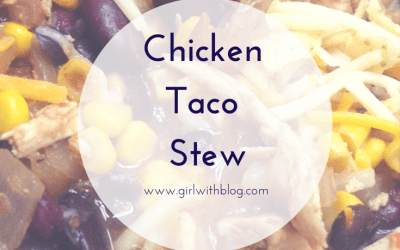 On Slow-Cooker Chicken (or turkey) Taco Stew