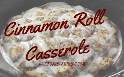 On Warm Memories & Cinnamon Roll Casserole