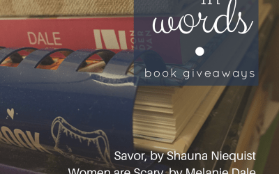 On Hope in Words: book giveaways!