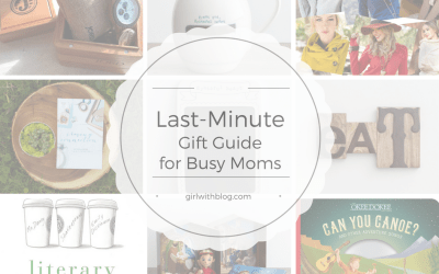 Last-Minute Gift Guide for Busy Moms!