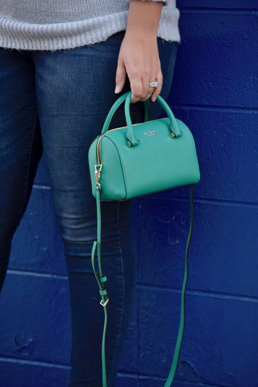 Girl With Curves featuring a bag from Kate Spade and jeans from Old Navy.