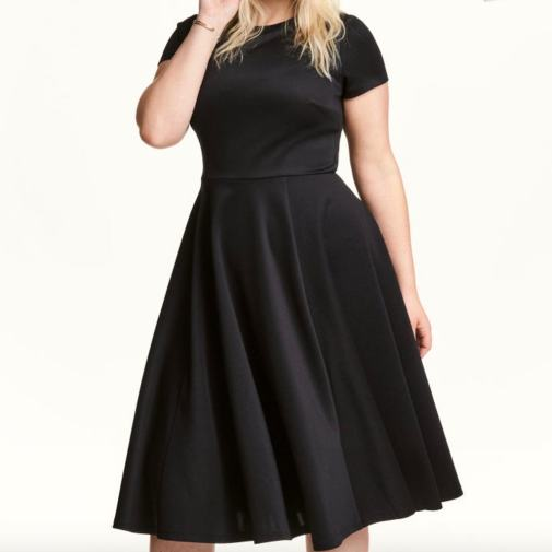 Girl With Curves | A fit and flare dress from H&M