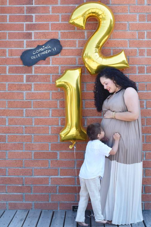 Girl With Curves founder Tanesha Awasthi announcing her pregnancy with baby #2