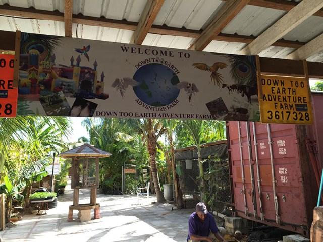 Down Too Earth Adventure Farm - Entrance to Farm
