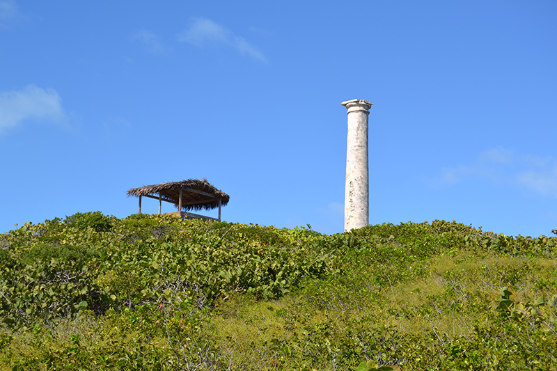 The Salt Beacon - View from the road