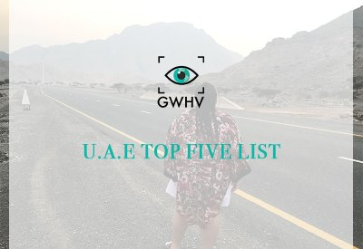 My U.A.E Top Five List