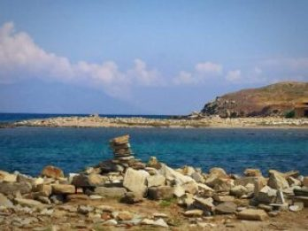 Check some ruins off your Santorini bucket list.