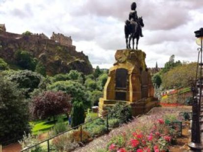 Princes Street Garden should be on your Edinburgh Scotland itinerary.