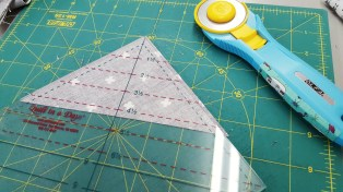 Triangle Square Up Ruler by Quilt In A Day