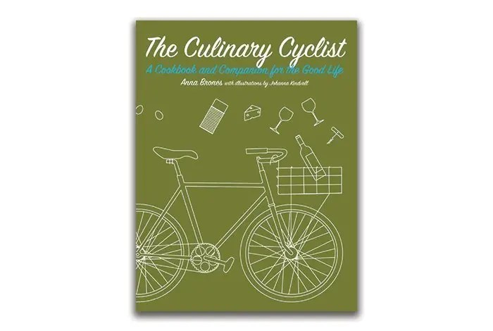 Copertina del libro The Culinary Cyclist