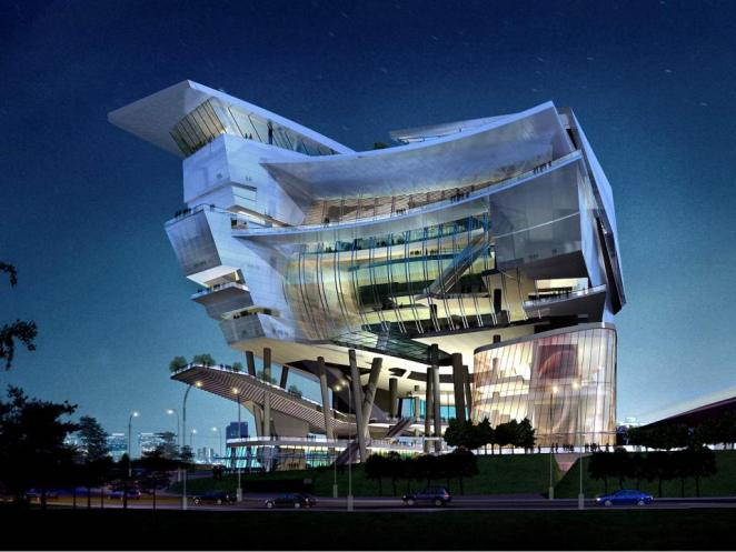 Awesome and Bizarre Architecture - Digital Art Mix