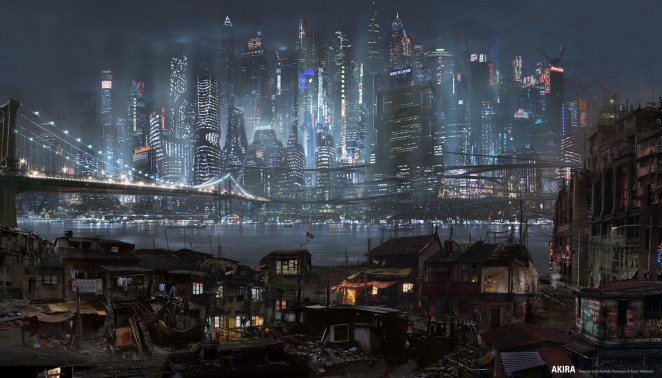 The Concept Art for Cancelled Akira Live-Action Movie - Digital Art Mix