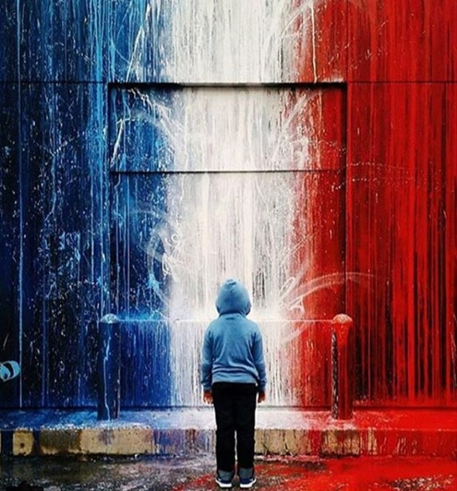 #SprayForParis - Graffiti Artists Unite Over Paris Attacks - Digital Art Mix