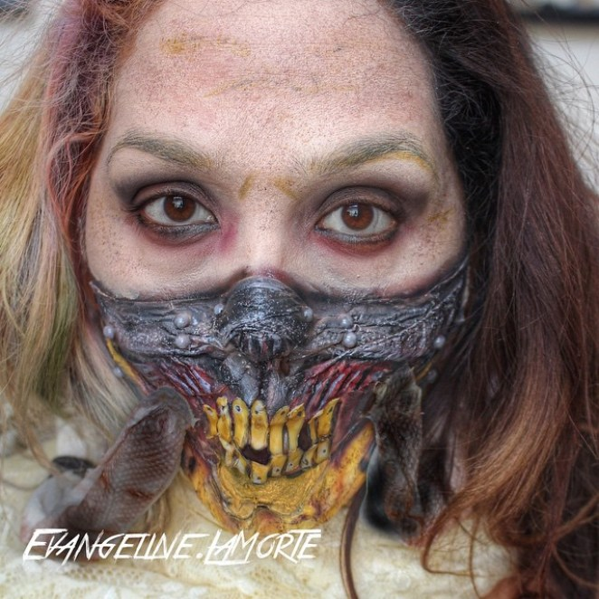 The Awesome Makeup Creations of Eva La Morte - Digital Art Mix