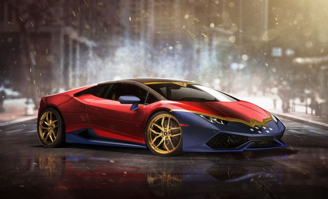 Screw the Batmobile, here's what the world's greatest superheroes should be driving.. - Digital Art Mix