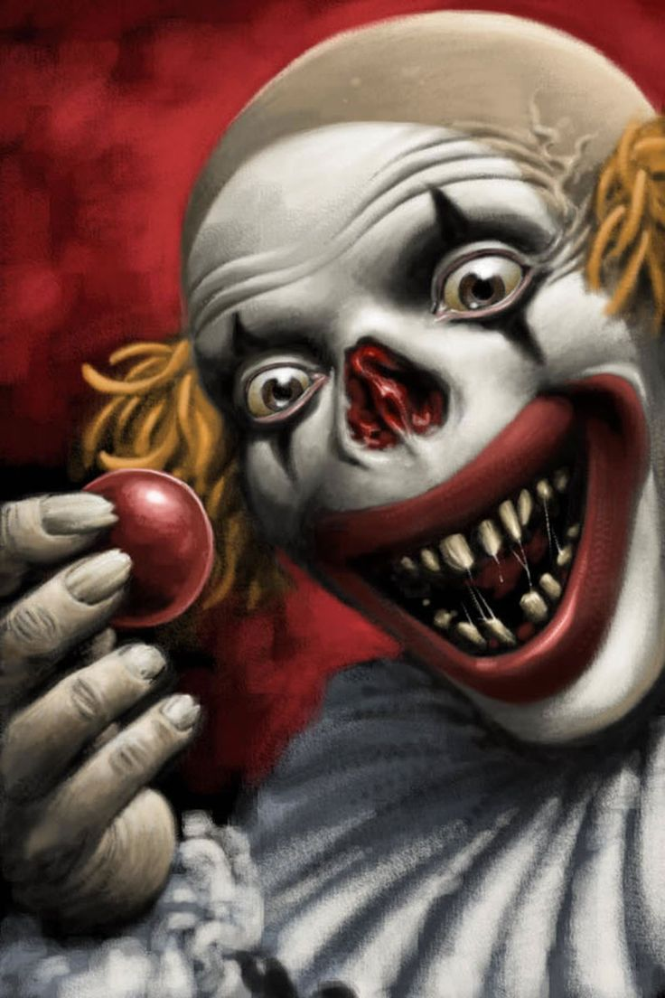 Mitch O'Connell: CLOWN ART! The Top 100 Most Disturbing ... |Creepy Clown Painting