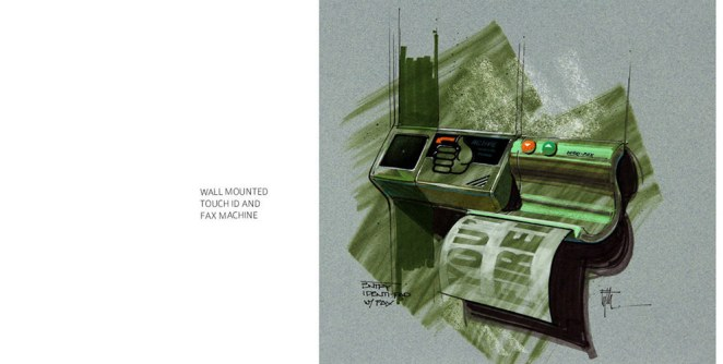 The Original Concept Art for Back to the Future Part II - Design Mash