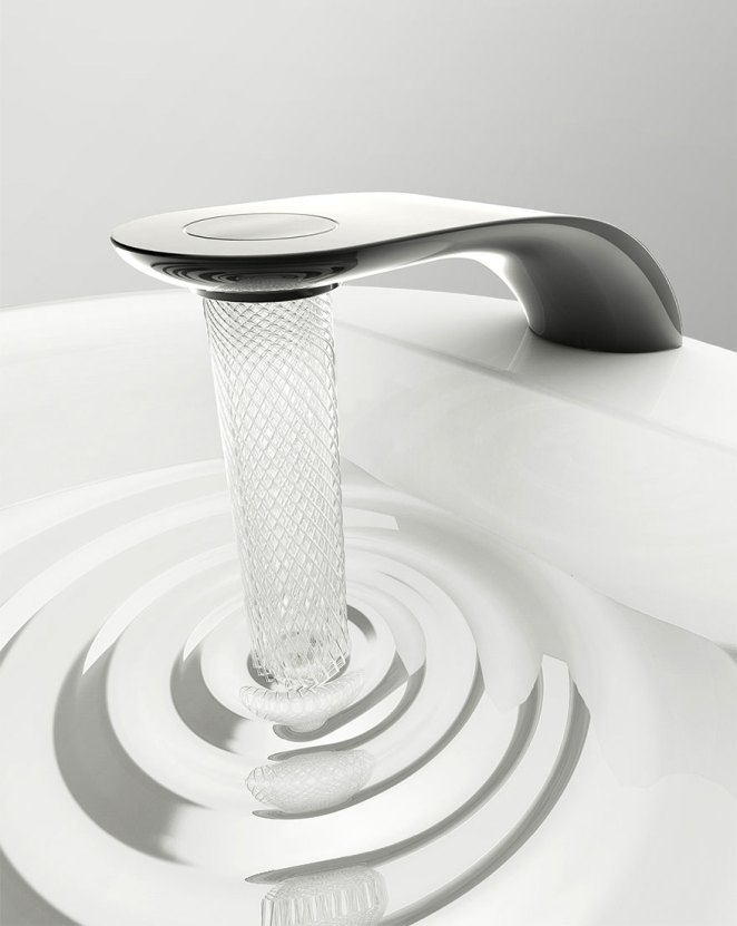 Daily Inspiration No. 4 - Water Conservation Swirl Faucet Design - Design Mash