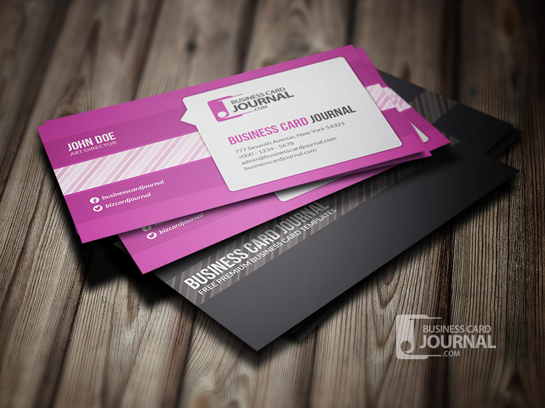 10 stylish free business and gift card templates stylish business n gift card templates 02 yadclub Gallery