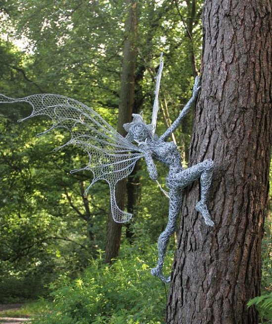 Fantasy Wire Fairy Sculptures - Girly Design Blog