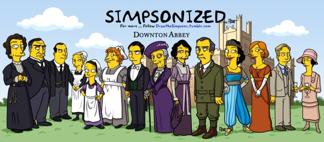 Pop Culture Characters That Have Been Simpsonized - Girly Design Blog