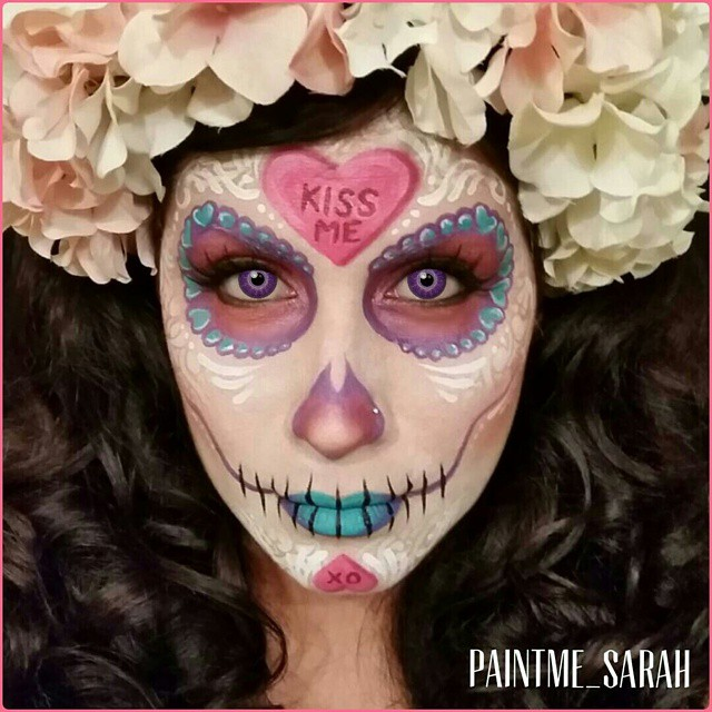 The Amazing Face & Body Art by Paint Me Sarah - Girly Design Blog