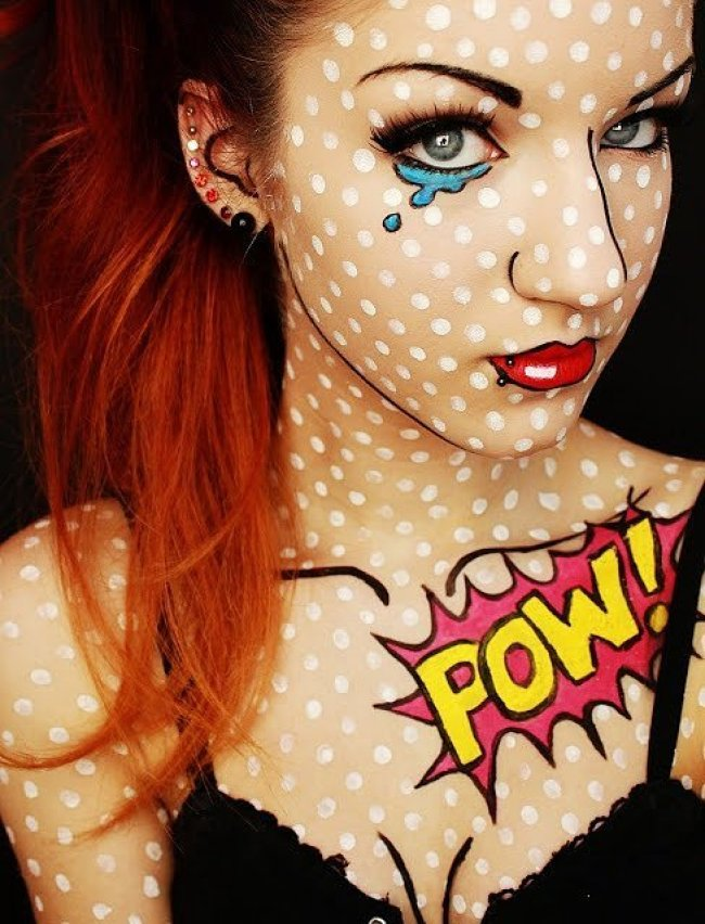 35 Crazy Halloween Costumes & Makeup Ideas - Girly Design Blog