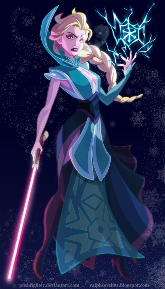 Disney Princesses Re-imagined as Star Wars Characters - Girly Design Blog