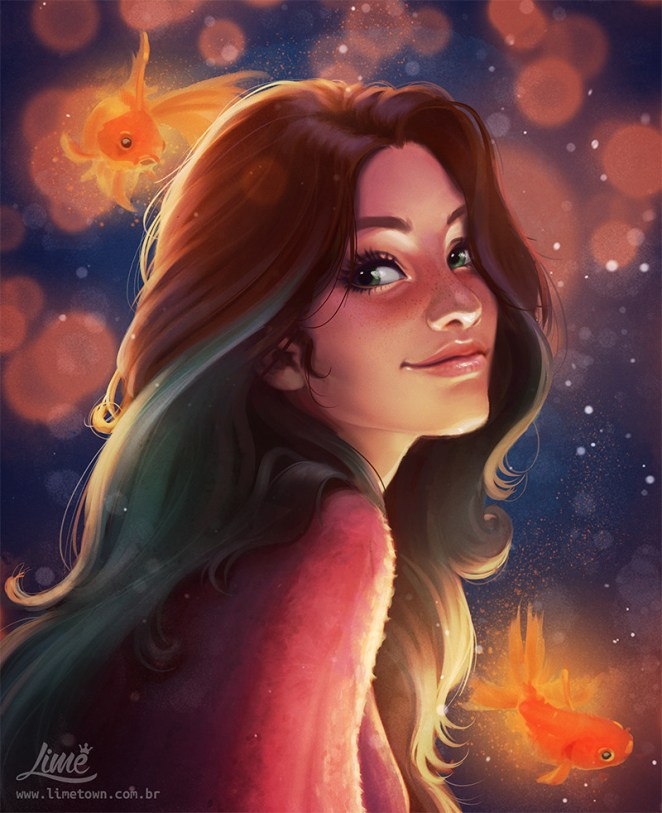 Beautiful Digital Art of Amanda Duarte - Girly Design Blog