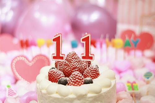 「HAPPY BIRTHDAY」「イチゴ」「おめでとう」「お祝い」「お誕生日おめでとう」「キャンドル」「ケーキ」「誕生日ケーキ」「風船」などがテーマのフリー写真画像