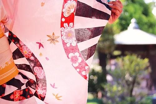 「和」「夏」「女性・女の子」「浴衣」などがテーマのフリー写真画像