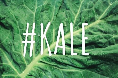 写真スタンプ:『#KALE(ケール)』